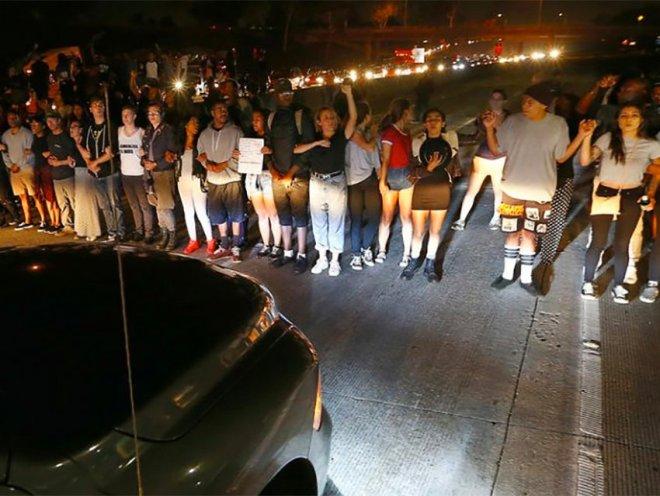 BLM protestors 405